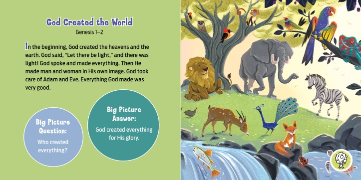 Big Book of Bible Stories for Toddlers int sample